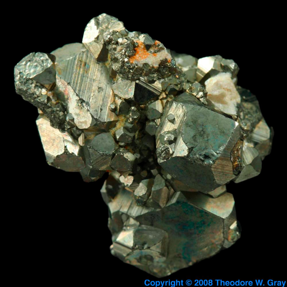 Pyrite a sample of the element iron in the periodic table iron pyrite gamestrikefo Choice Image