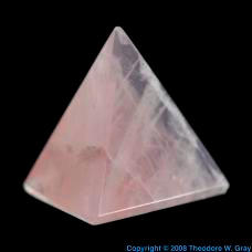 Silicon Tetrahedron from Sacred Geometry set
