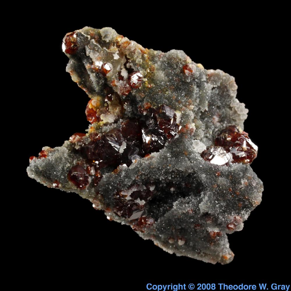 Sphalerite a sample of the element germanium in the periodic table germanium sphalerite gamestrikefo Image collections