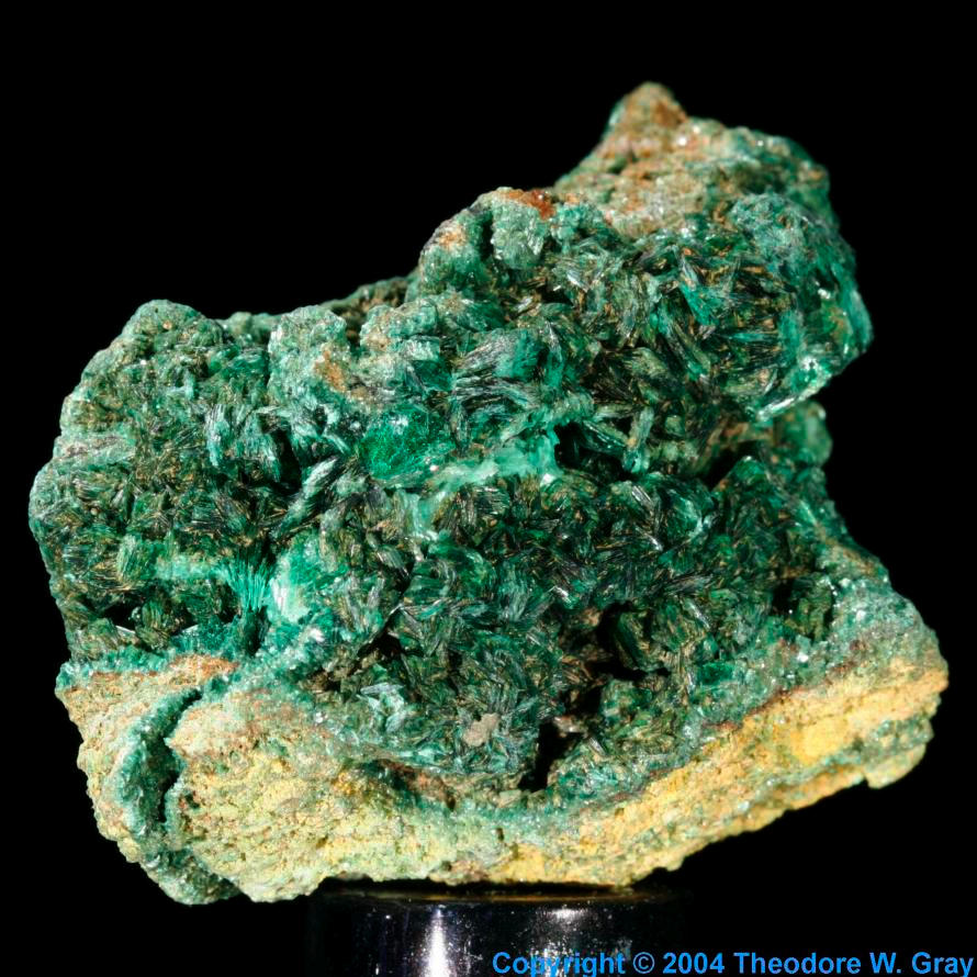 Sample of the element Uranium in the Periodic Table