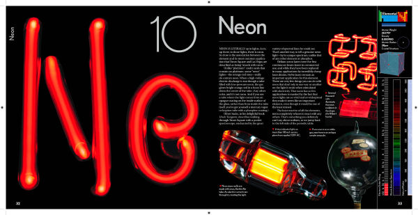 neon in the elements by theodore gray - Periodic Table Of Elements Neon