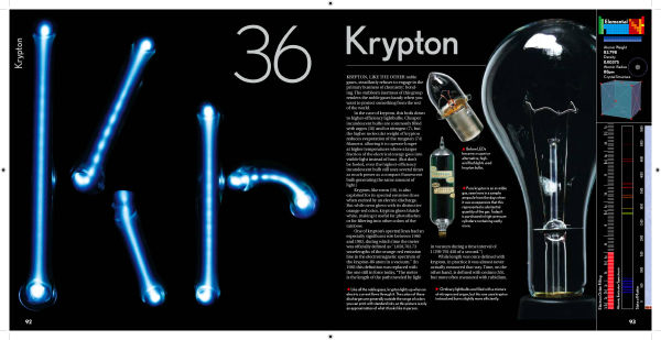 Krypton Element Periodic Table Krypton in The Elements by