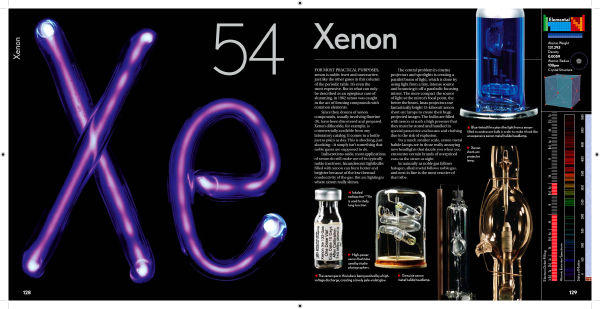 Xenon in the elements by theodore gray urtaz Images