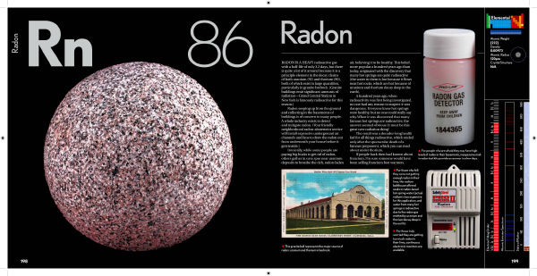 a brief look at the element radon New study suggests radon threat may be overestimated radon test kit radon gas is released naturally into the environment when weak radioactive elements of rock and soil break down into this is the first time anyone has been able to look at the cancer risk associated with single.